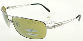 Serengeti Dante Shiny Silver / 555nm Green Sunglasses 7314 - $234.71