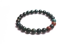 Natural Blood stone Beads Bracelets Supply,Gift jewelry Bracelets.Jewelr... - $12.00