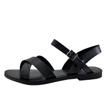Soda Mermaid-S Black Women's Open Toe Criss Cross Sandals - $21.95+