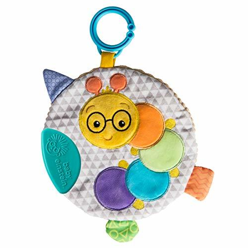 Mary Meyer Baby Einstein First Discoveries Squeezer Teether, 7-Inches, Cal Cater - $11.99