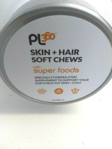Petlabs360 Skin + Hair Soft Chew With Super Foods Dog Supplement 60 Ct Exp 11/22 image 2