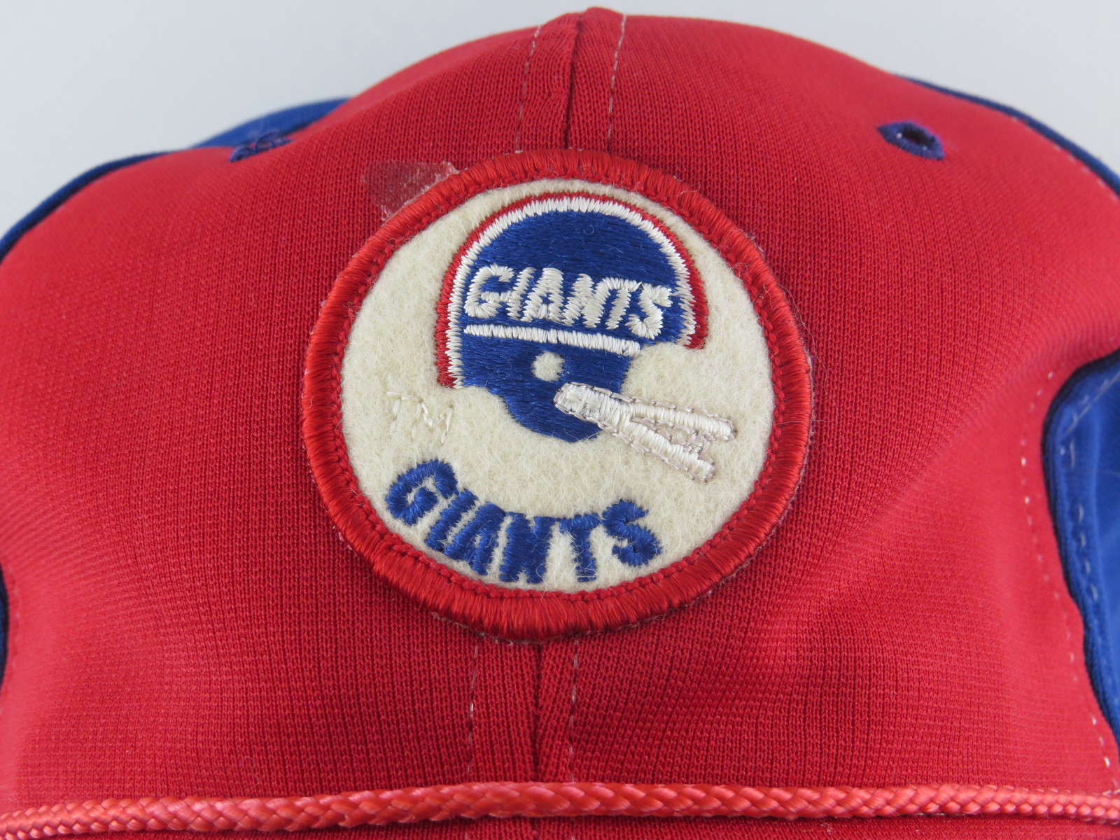 New York Giants Hat - 1970s Patched Hat by Sports Specialties - Snapback