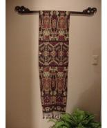 10 Hand carved Elegant Textile Tapestry Display Hanger Rod Racks & Finia... - $237.49
