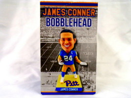 VINTAGE Nov 14 2017 Coyote SGA Pitt Panthers James Conner Bobblehead in box - $27.79