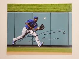 Kansas City Royals Lorenzo Cain Signed Autographed 8x10 Photo - $39.45
