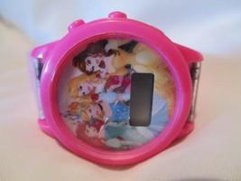 Disney Princesses Digital Wristwatch Pink Buckle Band - $29.00
