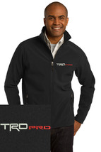 Toyota TRD Pro logo Black Embroidered Port Authority Core Soft Shell Jac... - $39.99+