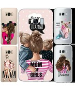 Baby Mom Love Queen Case Cover For Samsung Galaxy S6 S7 S8 S9+ Slim Cute - $4.01+