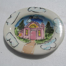 Sue Bolt Soap Dish Holder Hand Made Ceramics - Signed by The Artist - $45.00