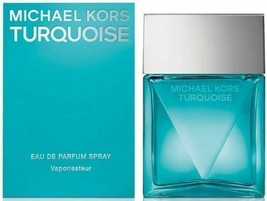 Michael Kors TURQUOISE Eau De Parfum Perfume Spray Woman 3.4oz 100ml NIB - $42.78