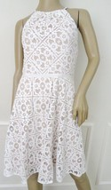 Nwt Maggy London Cutaway Burnout Lace Cocktail Party Fit Flare Dress Sz ... - $69.25