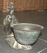 Vintage Israel Crinoline Lady Decorative Trinket Bowl Dish 1960's image 7