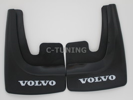 New Universal car mud flaps with Volvo logo rear or front snow guards 3D... - £22.80 GBP
