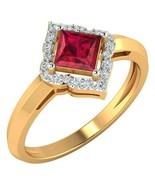 14k Yellow Gold Natural Certified Diamond Ruby Sapphire Emerald Gemstone... - $325.75+