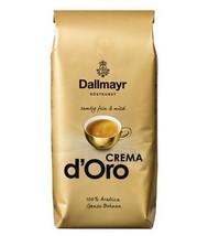 Dallmayr Crema d'Oro whole bean Coffee XXL 1kg/2.2lbs FREE SHIPPING - $28.70