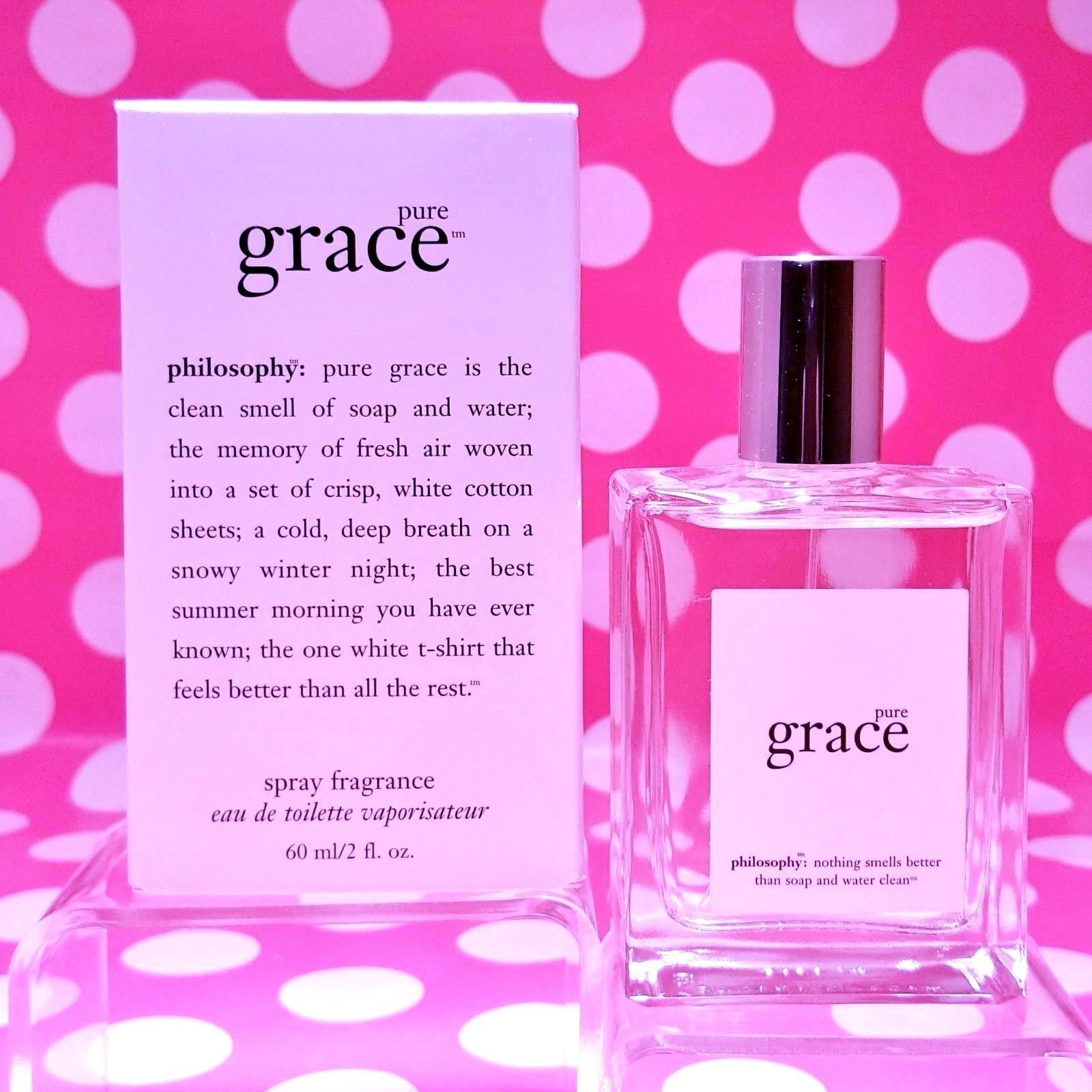 Primary image for PHILOSOPHY PURE GRACE EAU DE TOILETTTE DISTRIBUTED BY PHILOSOPHY PRE COTY IN BOX