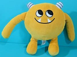 "Nibbles The Book Monster Yellow Corduroy 8"" Plush Stuffed Emma Yarlett C... - $19.95"