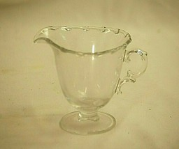 "Old Vintage Century by Fostoria 4"" Footed Milk Creamer Pitcher Elegant G... - $19.79"