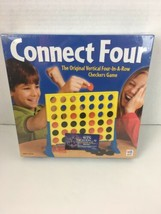 2002 Connect 4 Four vertical checkers Game Milton Bradley Hasbro New  - $49.49