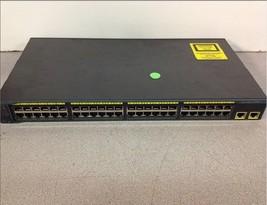 Cisco Systems Catalyst 2960 Series WS-C2960-48TT-L V04 48 Port Ethernet Switch - $50.00