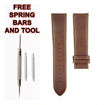 22mm Brown Leather Watch Strap For Emporio Armani AR1936 530ARM - $34.65