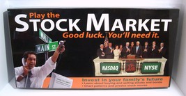 Thomas Craig Co. Play the STOCK MARKET Fiancial Board Game Rare HTF BRAN... - $74.95