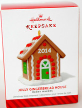 Hallmark: Jolly Gingerbread House - Merry Makers - 2014 Keepsake Ornament - $13.45