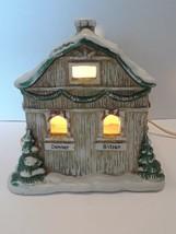 Christmas Vintage Noma Porcelain Lighted House Donner Blitzen Dancer Prancer - $25.49