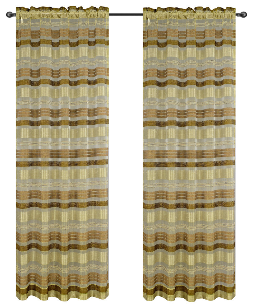 Becca Drapery Curtain Panels image 13