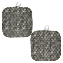Halloween Steel Scale Armor All Over Pot Holder (Set of 2) - $18.95