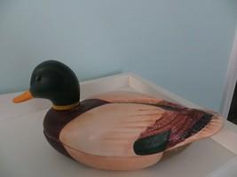"AVON 1978 - Ceramic ""Mallard Duck"" Trinket Box - Handmade in Brazil - $14.95"