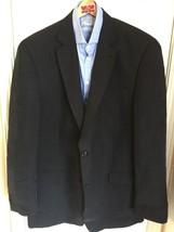 Michael Kors Black Two Button Blazer Sport Coat Suit Jacket Men's 44L - $29.65