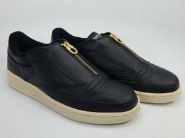Reebok Club C 85 Zip Misura USA 8.5 M EU 39 Donna Classico Pelle Sneaker... - $54.24
