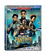 Black Panther (2018 Blu-ray/Digital, Canadian w/ USA Compatible Discs) B... - $12.97