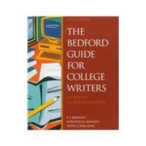 The Bedford Guide for College Writers With Reader and Research Manual [F... - $6.92
