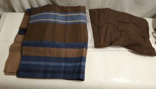 Queen Ruffled Bed-Skirt + 2 King pillow shams Mainstays NEW - $18.64