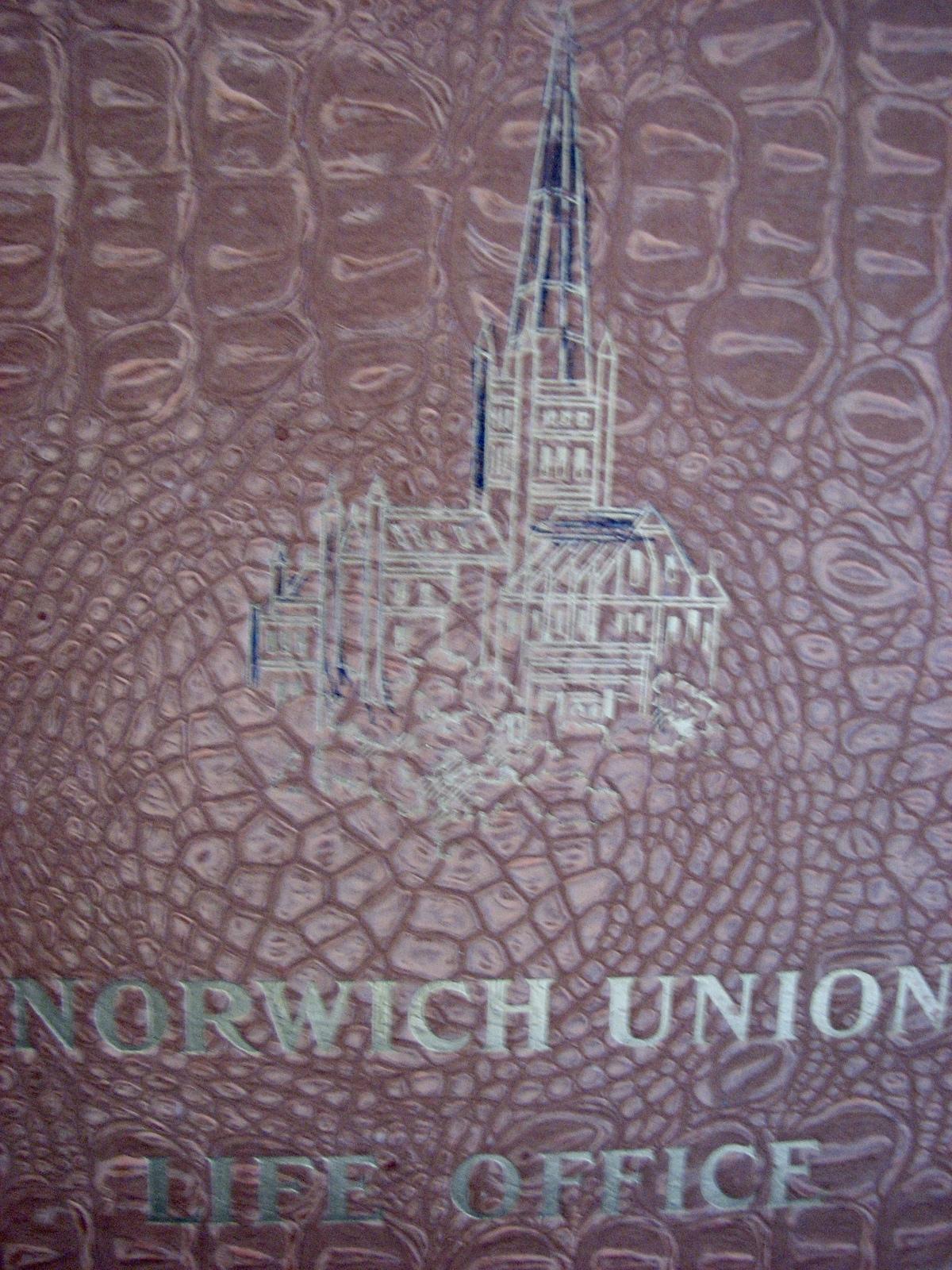 Antique Folder Norwich Union Life Office Centenary 1803 to 1903 Insurance