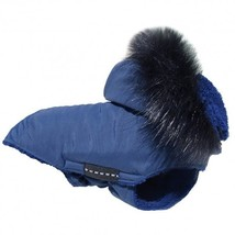 DOG puppy animal Warm Winter COAT Jacket Blanket BLUE made in EU Best Qu... - $39.00