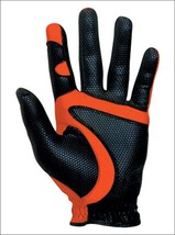 GolfBasic Fit39 EX Golf Gloves (Black/Red, Extra Large) - $39.19