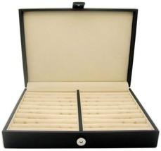 Honey Bear Men/Women's Cufflinks Jewelry Box - Faux Leather Display Case... - €48,06 EUR