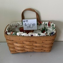 1990 Longaberger Medium Key Basket - $20.00