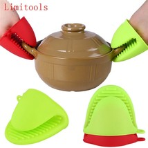 1pc Cake Bakeware Heat Resistant Silicone Oven Glove Short Finger Hand ... - $5.05