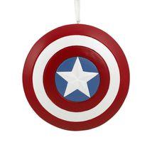 Hallmark Ornament 2019 Captain America Shield - £7.61 GBP