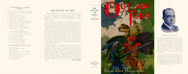Burroughs, Edgar Rice. THE OUTLAW OF TORN facsimile dust jacket 1st McCl... - $21.56