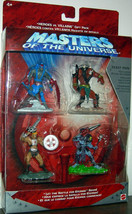 Masters Of The Universe Motu Heroes Vs. Villains Gift Action Figures Beast Man - $24.74