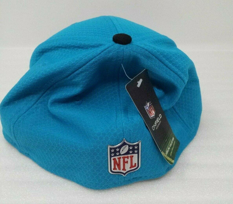 98da21f749750 New Era Carolina Panthers Baseball Cap Hat NFL 2017 Sideline 39Thirty  20915707