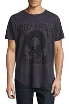 NEW MENS AMERICAN STITCH JIMI HENDRIX ROCK N ROLL VINTAGE LOOK T SHIRT T... - $25.73