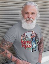 Repo Man T-shirt vintage 1980 retro classic movie 100% cotton graphic white tee image 3