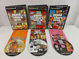 Grand Theft Auto Trilogy - GTA 3 III / Vice City / San Andreas Playstati... - $14.95