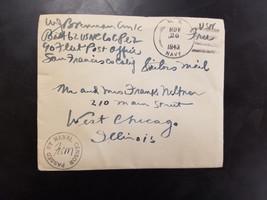 World War II US Navy Envelope 1943 - $1.99
